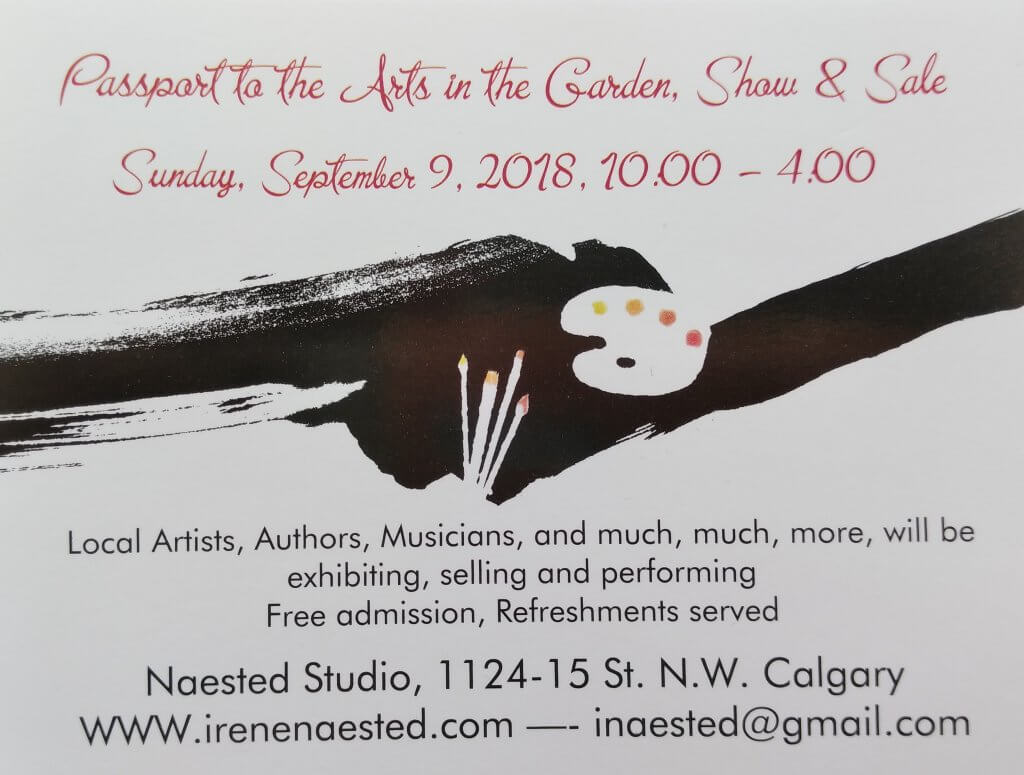 Passport to the Arts, Show and Sale, Sept. 09, 2018